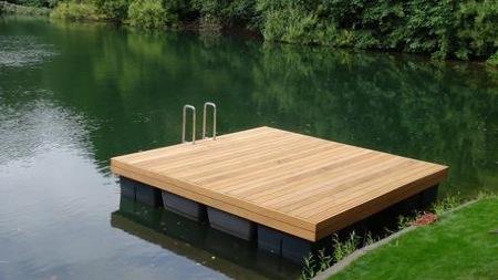 karl innovation schwimmstege bootsstege pontons badeinseln. Black Bedroom Furniture Sets. Home Design Ideas